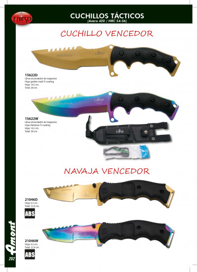 tactical knives VENCEDOR TACTICAL KNIVES