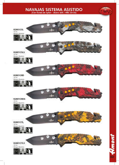 pocketknives tactical FOLDING KNIVES THIRD WITH HOLES
