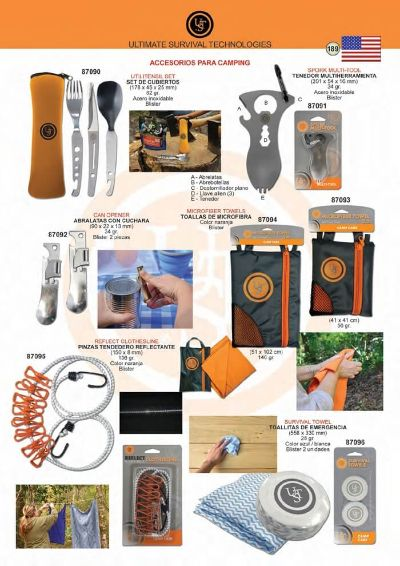 camping and survival ACCESSORIES FOR CAMPING UST