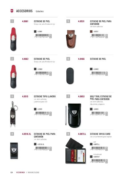 multipurpose accessories FUNDAS VICTORINOX 01