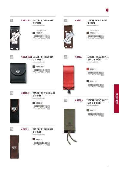 multipurpose accessories FUNDAS VICTORINOX 03