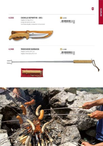 camping and survival TRINCHADOR BARBACOAS VICTORINOX
