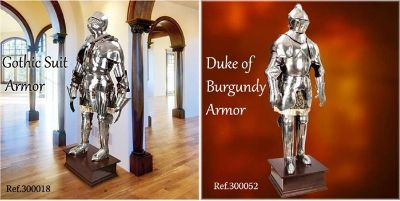 swords ARMORS GOTHIC AND BURGUNDY