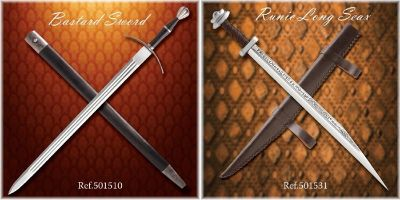 swords SWORDS BASTARD AND RONIC