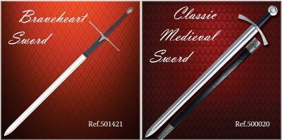 swords SWORDS BRAVEHEART AND MEDIEVAL