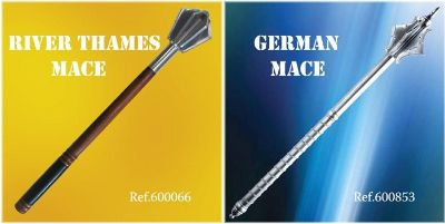 swords MACES GERMAN AND THAMES