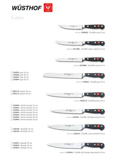 professional knives SERIES CLASSIC 2