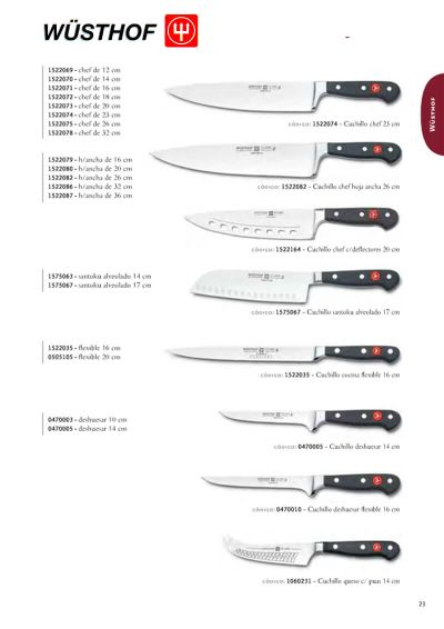 professional knives SERIES CLASSIC 3