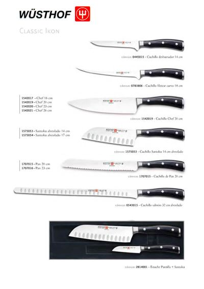professional knives butcher CLASSIC IKON SERIES 2