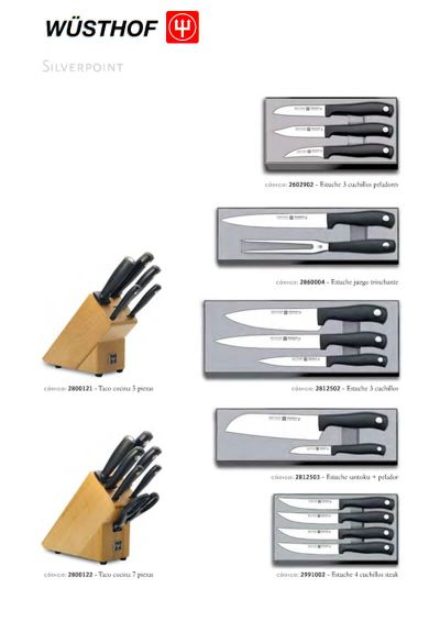 professional knives SILVERPOINT SERIES 3
